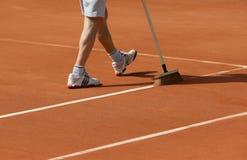 Roland Garros 2010 - line scrub Royalty Free Stock Photos
