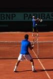 Roland Garros 2011, Bagdhatis versus Gil Stock Photos