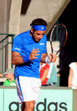 Roland Garros 2011, Bagdhatis versus Gil Royalty Free Stock Images