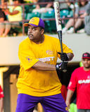 Roland Martin at the plate. Royalty Free Stock Image