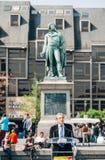 Roland Ries borgmästare av Strasbourg Arkivbild