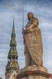 Roland of Riga Stock Photography