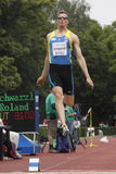 Roland Schwarzl at IAAF decathlon meeting Stock Images
