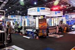 Roland Stall 03 - Teken Afrika 2010 stock afbeelding