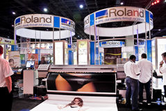 Roland Stall 04 - Sign Africa 2010 Royalty Free Stock Image
