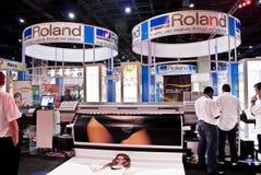 Roland-Strömungsabriß 04 - Zeichen Afrika 2010 Lizenzfreies Stockbild