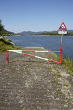 Rolandseck (Remagen, Germany) - Boat ramp into the Rhine Stock Photo