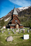 Roldal Stave Church, Norway Stock Photo