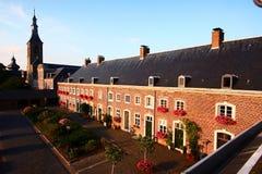 Rolduc修道院,科尔克拉德,荷兰 免版税图库摄影