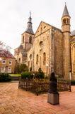 Rolduc - μεσαιωνικό αβαείο σε Kerkrade, Κάτω Χώρες στοκ εικόνα με δικαίωμα ελεύθερης χρήσης
