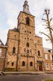 Rolduc -中世纪修道院在科尔克拉德,荷兰 库存照片