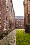Rolduc -中世纪修道院在科尔克拉德,荷兰 免版税库存图片