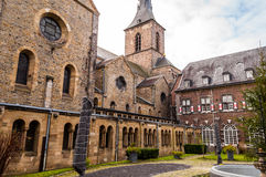 Rolduc - Abbey In Kerkrade médiévale, Pays-Bas Photo libre de droits