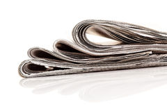 Role as a newspaper Stock Photo