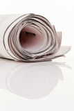 Role as a newspaper Royalty Free Stock Photos