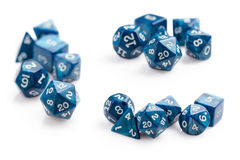 Role Play Dice Stock Photography