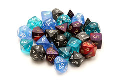 Role-playing dices Stock Photos