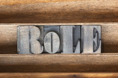 Free Role Wooden Tray Stock Images - 82481104
