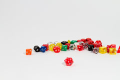 Roleplaying dices Stock Photo