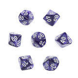 Roleplaying polyhedral dice isolated Stock Photos