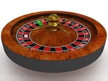 Roleta do casino Foto de Stock Royalty Free