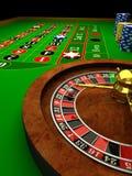 Roleta do casino Imagem de Stock Royalty Free