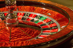 Roleta do casino Fotos de Stock Royalty Free