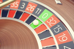 Roleta do casino de Las Vegas, jogo da roleta do casino, rendição de jogo do conceito 3D do casino ilustração do vetor