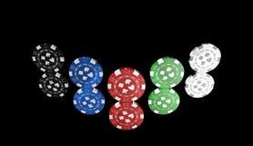 Roleta, jogo do casino, jogos reais, ícone, sinal, a melhor ilustração 3D Fotografia de Stock Royalty Free