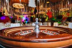 A roleta roda dentro o casino imagem de stock royalty free