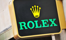 Rolex Royalty Free Stock Photo