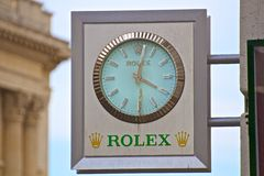 Rolex Royalty Free Stock Photography