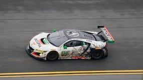 Rolex 24 au speed-way international de Daytona le 30 janvier 2017 Photos stock