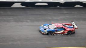 Rolex 24 bij de Internationale Speedwaybaan van Daytona op 30 Januari 2017 Stock Foto's