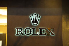 Rolex brand Stock Images
