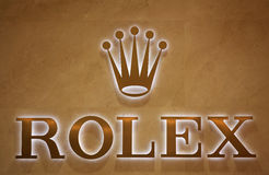 Rolex brand Royalty Free Stock Photography