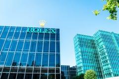 Rolex budynek - Genewa Fotografia Stock
