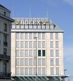 Rolex building, Geneva, Switzerland Royalty Free Stock Images