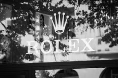 Rolex butik obrazy stock