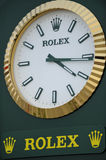 Rolex clock Royalty Free Stock Images