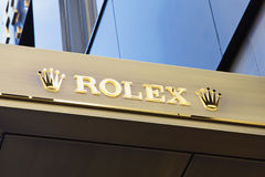 Rolex Company Sign Royalty Free Stock Photos