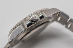 Rolex corona símbolo en la corona Imagen de archivo libre de regalías