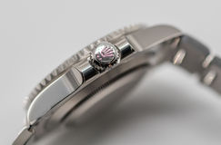 Rolex corona símbolo en la corona Foto de archivo