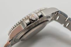 Rolex couronnent le symbole sur la couronne Image libre de droits