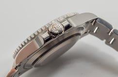 Rolex couronnent le symbole sur la couronne Image stock