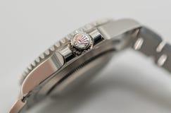 Rolex couronnent le symbole sur la couronne Photos libres de droits