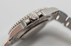 Rolex crown symbol on crown Stock Photography