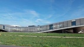 Rolex de la vue EPFL de Lausanne Photographie stock