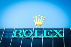 Rolex-embleem Royalty-vrije Stock Fotografie