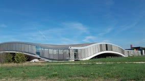 Rolex EPFL da opinião de Lausana Foto de Stock